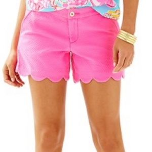 LILLY PULITZER Buttercup Short Flamingo Pink